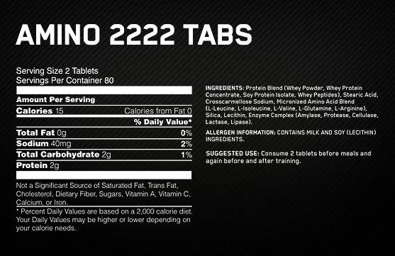 Amino 2222 - 320caps2