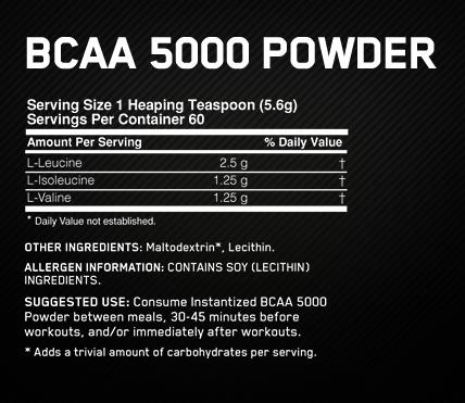 BCAA 5000 - 60serv2