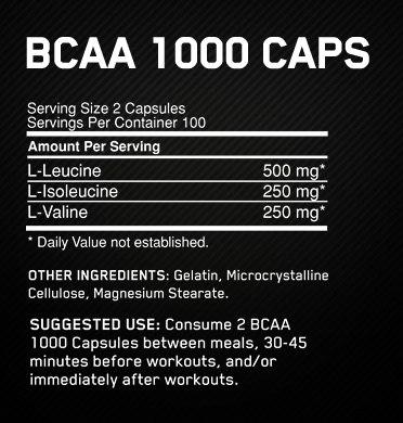 BCAA capsules2