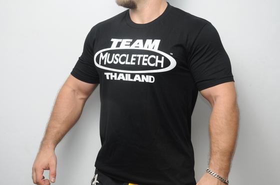 Men's T-shirt MuscleTech Team Black